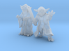 (1/47) Yoda Set 3d printed