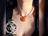 Halloween HEART Pumpkin Pendant ⛧VIL⛧ 3d printed