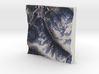Whistler Blackcomb, BC, Canada, 1:75000 3d printed