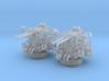1/96 USN 40mm Bofors Twin Mount Set 2 Units 3d printed