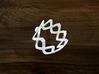 Turk's Head Knot Ring 2 Part X 9 Bight - Size 7 3d printed