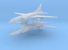 1/700 Tupolev TU-22M Backfire (x2) 3d printed