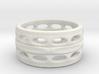 holey ring 9 3d printed