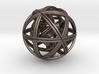 GEOCUBE (Pendant / Keyring) 3d printed