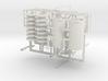 Negative ion generator PCB base and HV transformer 3d printed