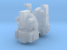 Flame-o Head 3d printed