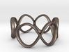 Infinity Ring (Sz 8) 3d printed