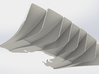 Rear Diffuser DP8 Simulation 3d printed