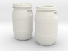 30 liter Drum Set 3d printed
