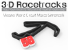 Misano World Circuit Marco Simoncelli  3d printed Track without Run Off