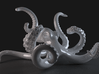 Octopus: 20cm: Plastic iPhone and iPad mini holder 3d printed