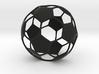 Classic Soccer ball (football) 3d printed