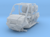 2 Seater MULE Long Bed 1/87 Scale 3d printed