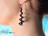Helix Eiffel Earrings 3d printed