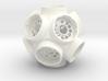 Pill Vial Dodecahedron Cap 6 Dram 3d printed