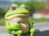 Foul Bachelor Frog  3d printed