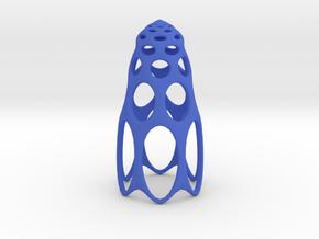 jamD Radiolarian 003 in Blue Processed Versatile Plastic