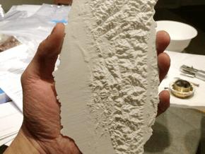 Taiwan, 28cm - Navigator Series in White Natural Versatile Plastic