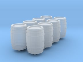 1-87 Whiskey Barrel in Smoothest Fine Detail Plastic