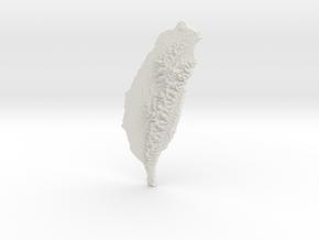 Taiwan, 14cm - Navigator Series in White Natural Versatile Plastic