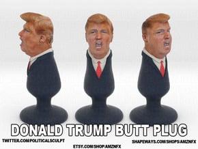 Donald Trump Plug in Full Color Sandstone