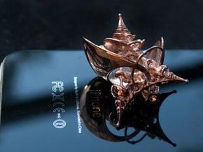 Planetarium Pendant in 14k Rose Gold Plated Brass