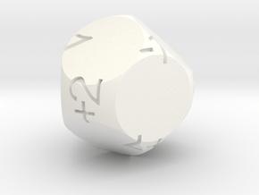 D9Fudge in White Processed Versatile Plastic