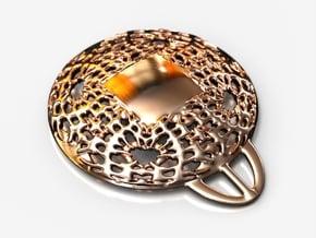 PAh Medalion V2Se87D36h4NULL in 14k Rose Gold Plated Brass