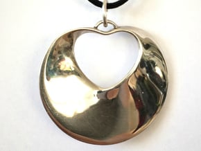 Infinite Love in Fine Detail Polished Silver