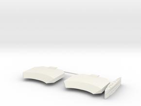 1/600 1 Off LST Pierhead Part 2 in White Natural Versatile Plastic
