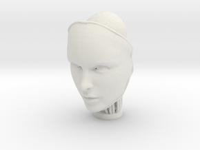 Robin 1 in White Natural Versatile Plastic