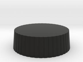 Customizable Nikon Rear Lens Cap in Black Natural Versatile Plastic