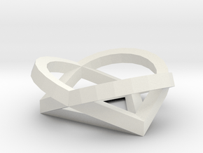 PATHS White Plastic1 in White Natural Versatile Plastic