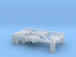 (Armada) 1x Small Stand + Peg in Smooth Fine Detail Plastic