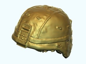 1-18 US Army ACH Helmets in White Natural Versatile Plastic