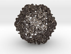 Sphere4 in Polished Bronzed Silver Steel