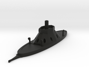 1/600 CSS Tuscaloosa in Black Natural Versatile Plastic