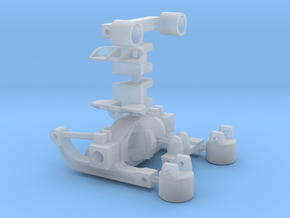 1/50 Scale Rear Axle Suspension in Smooth Fine Detail Plastic
