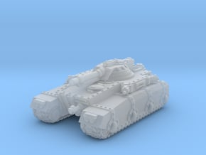 Irontank w. Light Turret in Smooth Fine Detail Plastic