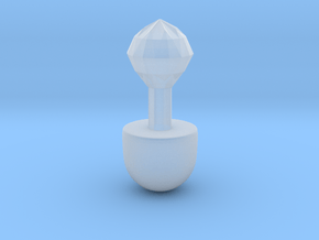 Sailor Moon Stick 1/3 Scale: Version 2 Part 2 in Smooth Fine Detail Plastic