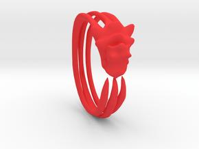 Phneergeoboros Bracelet in Red Processed Versatile Plastic