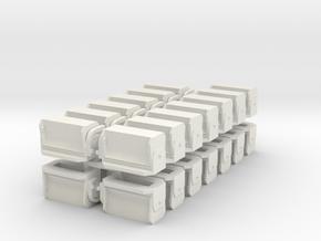 #3 Ballast Gate M-K - S Scale in White Natural Versatile Plastic