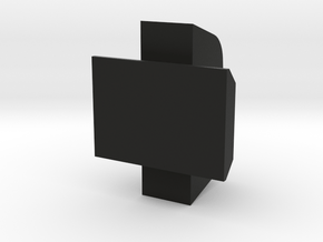 Hi Capa Fiber Optic Front in Black Natural Versatile Plastic