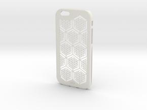 Iphone 6 Pattern in White Natural Versatile Plastic