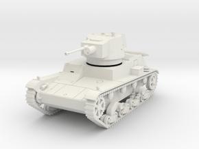 PV72 7TP Light Tank (1/48) in White Natural Versatile Plastic