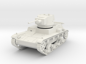 PV72A 7TP Light Tank (28mm) in White Natural Versatile Plastic