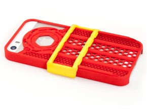 Shutter Grip Case for iPhone 5 / 5S in Red Processed Versatile Plastic