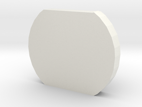 Outlet Plug in White Natural Versatile Plastic