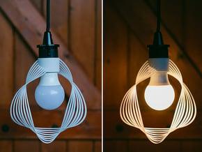 Lenti lamp in White Natural Versatile Plastic