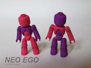 NEO EGO in White Natural Versatile Plastic